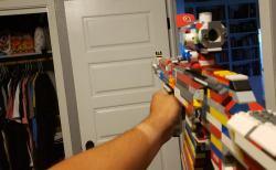 レインボーシックスシージ(R6S) アサルトライフル M762 レゴブロック