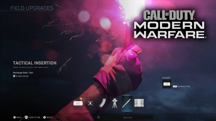 CoD:MW:新システム「フィールドアップグレード」一覧(全6種) 戦術マーカーやストパ復活