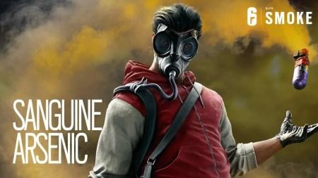 『レインボーシックスシージ』Smokeエリートスキン「レッドアーセニック」