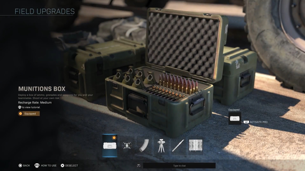 munitions box