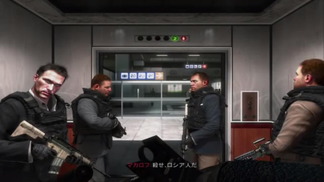『Call of Duty:Modern Warfare2』残虐すぎるミッション「No Russian」日本語訳