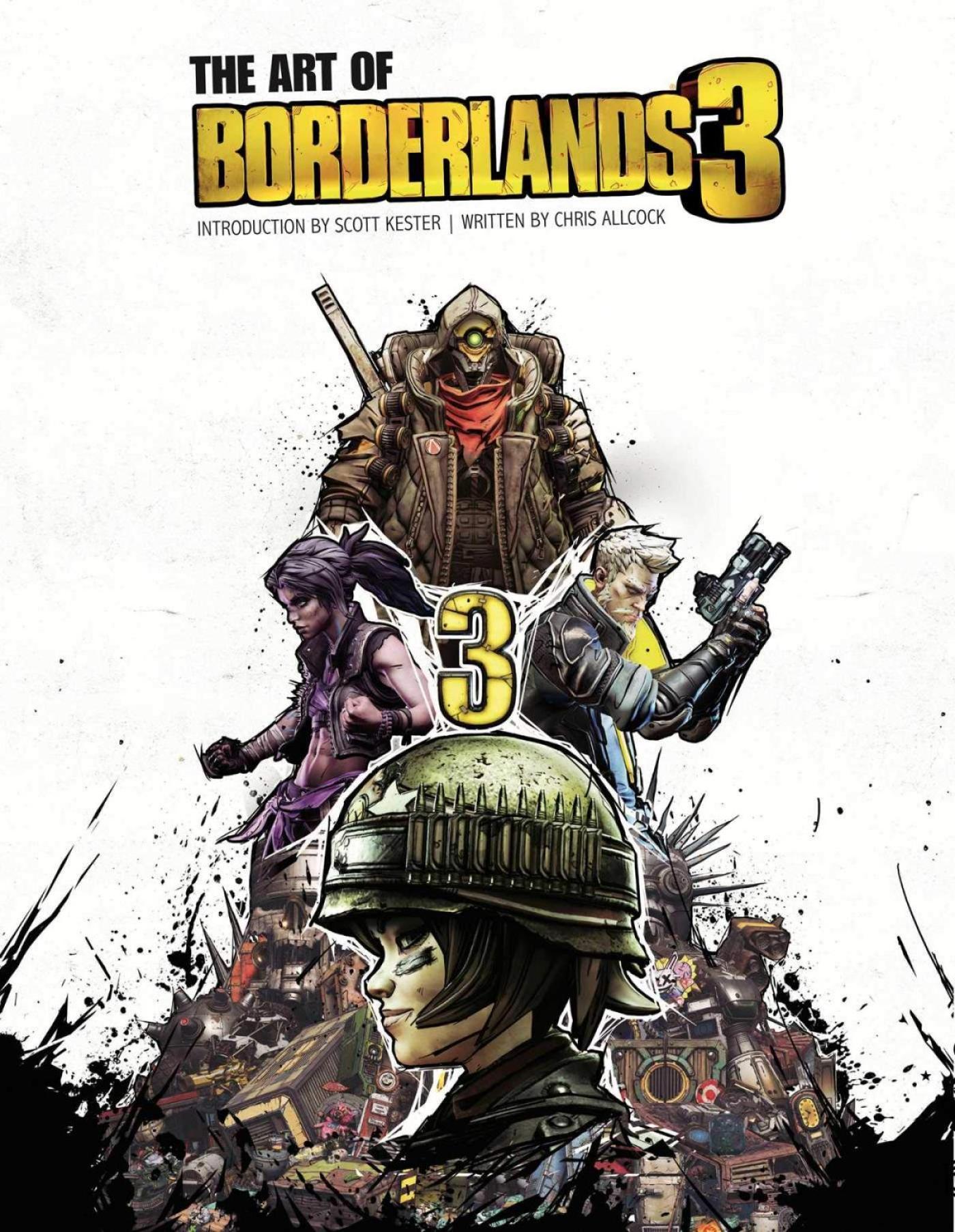 「The Art of Borderlands 3」サンプルイラスト