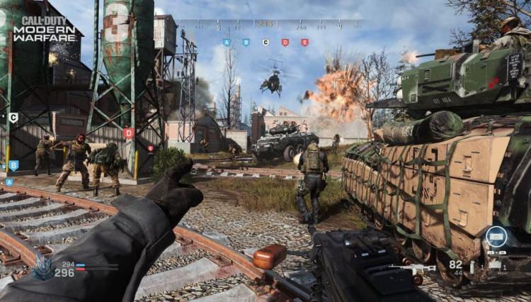 CoD:MW:ベータで64人対戦グランドウォー実装予定、キルストリークや多数の乗り物、敵が表示される従来のミニマップ登場?