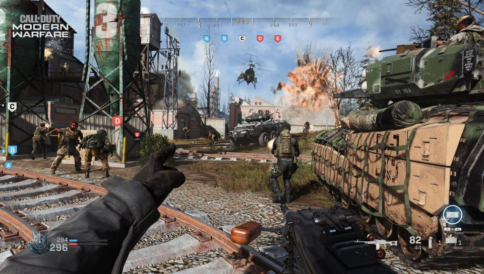 『CoD:MW』グランドウォー ゲーム画面