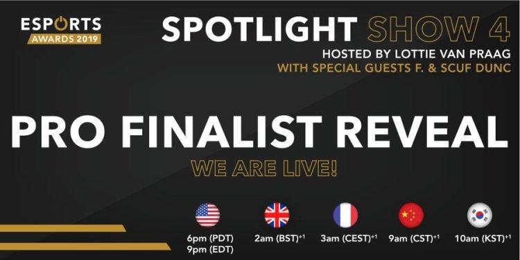 Esports Awards 2019:プロ部門のファイナリスト発表、『コール オブ デューティ』『フォートナイト』のプロ選手が多数ノミネート