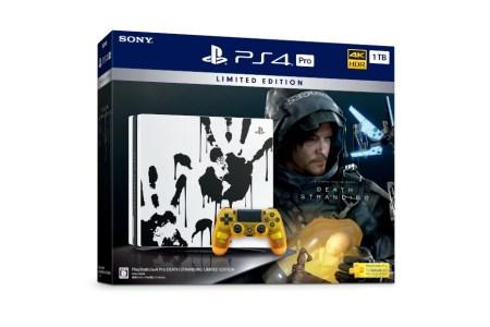 『デス・ストランディング』仕様のPS4 Pro、44,980円+税で11月8日より数量限定発売
