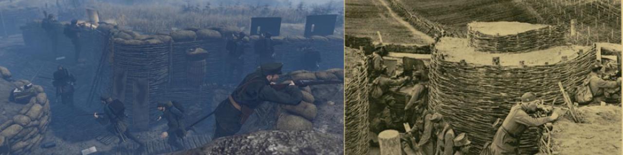 第一次世界大戦を描いたリアル志向ゲーム『Tannenberg』に新マップ「Ukraine」登場 編み枝塹壕