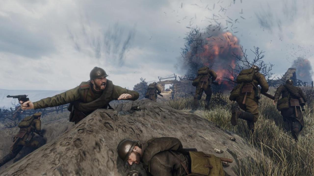 第一次世界大戦を描いたリアル志向ゲーム『Tannenberg』に新マップ「Ukraine」登場 フラットな地形