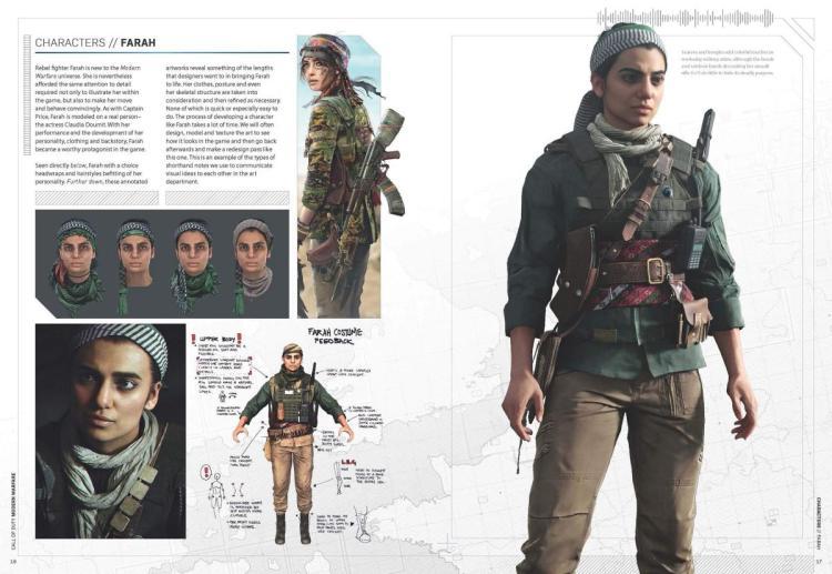 CoD:MW:公式メイキングアートブック発売、4つのチームによるデザインのディティールを網羅(限定スキン付き)