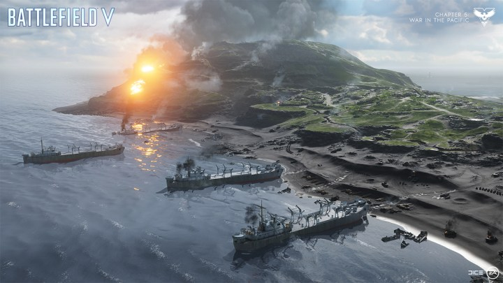 BFV:チャプター5「太平洋の戦い」アップデートノート全文、音響と建築システムが大改善