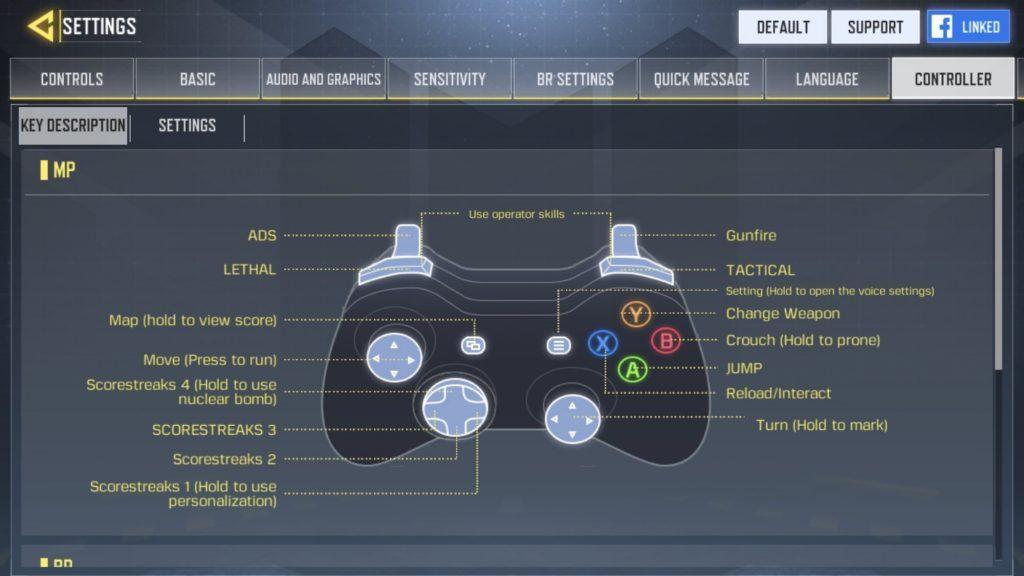 『COD:Mobile』コントローラーのサポート