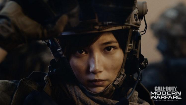 CoD:MW:本田翼が戦場へ!新TVCM「共に、戦う者たちの高みへ。」篇公開