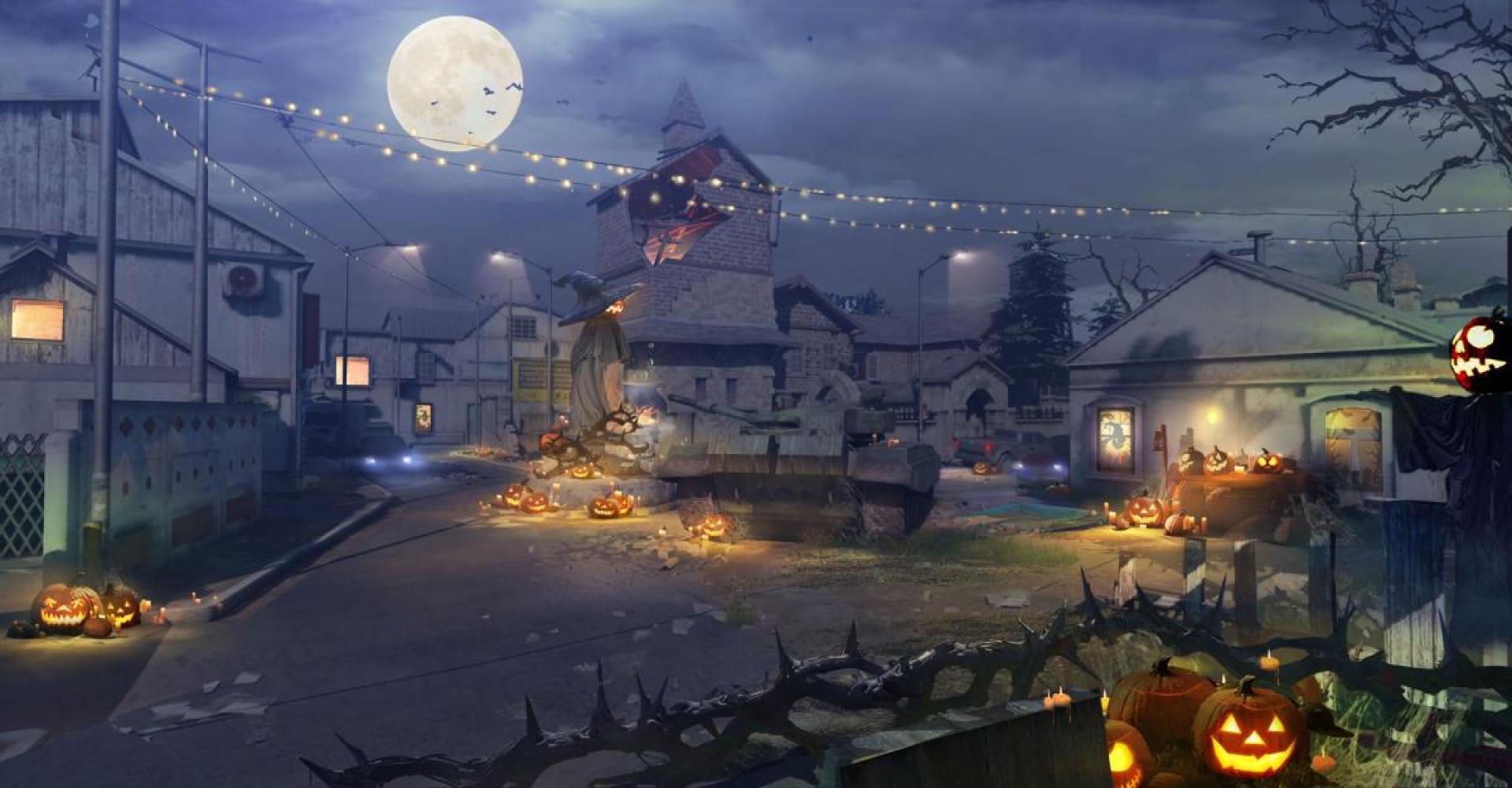 ハロウィン夜間仕様のStandoff