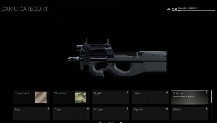 CoD:MW: ローンチ時点で各武器に103種類の迷彩が存在、ゴールド・プラチナ・ダマスカス迷彩も登場