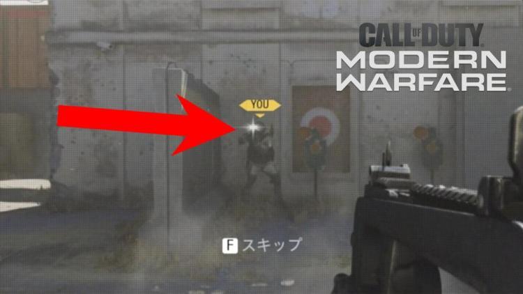 CoD:MW:P90のアタッチメント「FFSリングサイト」のレンズが反射してしまうバグ発覚