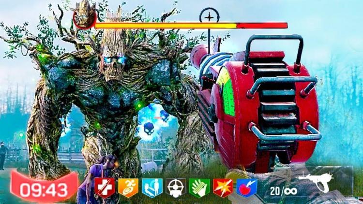 CoDモバイル:レイドゾンビの隠しボス「ジュボッコ」を出現させるイースターエッグ