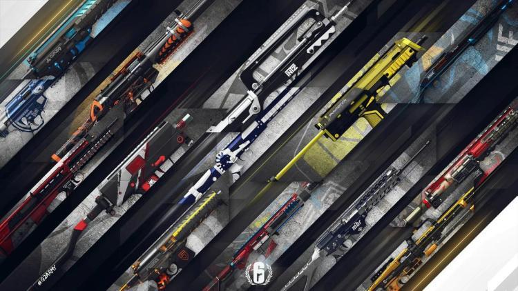 レインボーシックス シージ:新たなプロリーグ武器スキン登場、野良連合/Fnatic/NaViなど14種