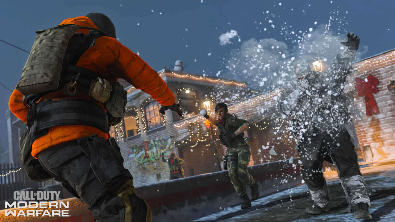 『CoD:MW』Winter Docks Snowfight Snowfight(スノーファイト)