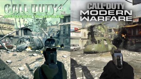 CoD:MW:リマスターマップ「Crash」『CoD4:MW』との新旧比較映像