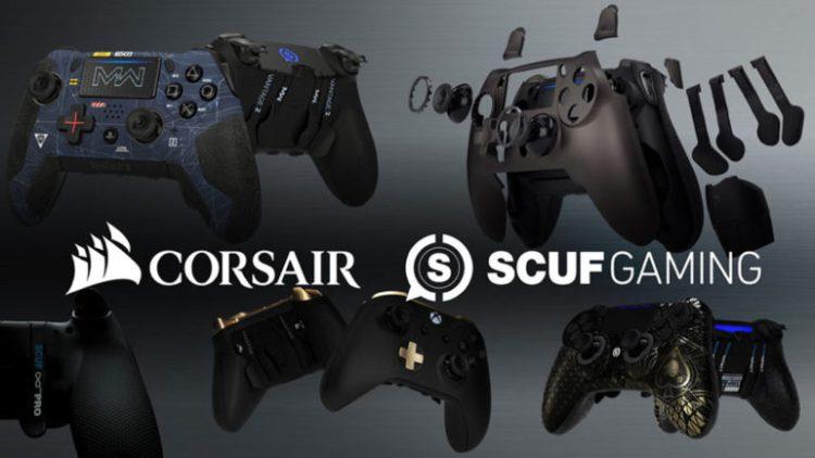 Scuf:プロコントローラー「Scuf」をCorsairが買収、日本上陸にも期待