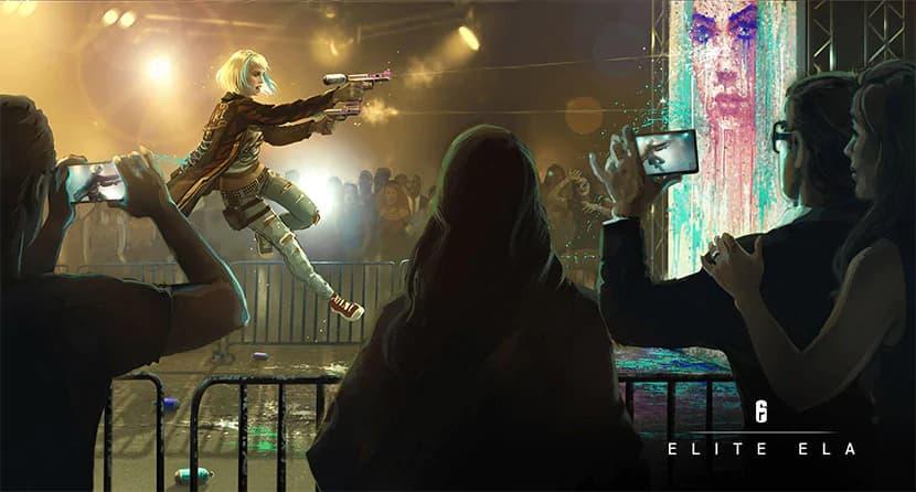 ela_elite レインボーシックス シージ:Elaのエリートスキン「Huk Sztuk」販売開始、芸術家の一面が見られるバックストーリーも公開