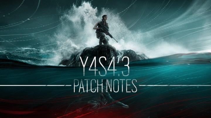 レインボーシックス シージ: Y4S4.3パッチリリースへ、オペレーター3人弱体化・6人が強化
