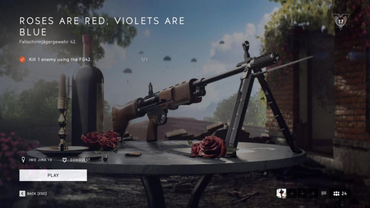 BFV:「今週のBFV」2020年第6号・チャプター5武器販売解禁 / バレンタインスキン発売 / 分コン一時封鎖