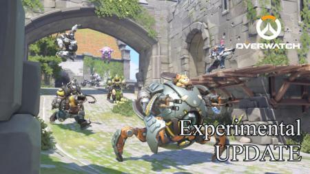 オーバーウォッチ:タンクヒーロー7名が特殊仕様になる「エクスペリメンタルモード」実装