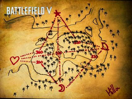 BFV:Solomon Islandsの宝の地図公開!2ヶ月も見つかっていないイースターエッグの大ヒントが発表 アイキャッチ