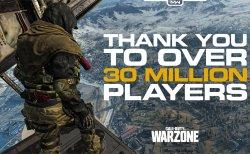 CoD:MW: プレイヤー数が驚異の3,000万人突破!3月25日には武器4種が追加