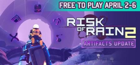 [休憩] お手軽ローグライクTPS『Risk of Rain 2』:4月6日までSteamで無料プレイ!手のひらサイズの無限を楽しもう
