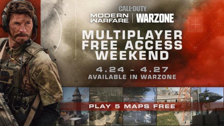 CoDウォーゾーン:期間限定でマルチプレイヤー無料開放、4月25日から(マップ増量)