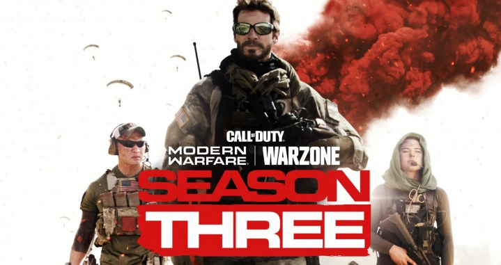 CoD:MW & ウォーゾーン: シーズン3は4月9日開幕、実写ティザー画像公開