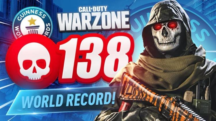CoD:Warzone:世界記録が早くも更新、1試合に138キル達成映像