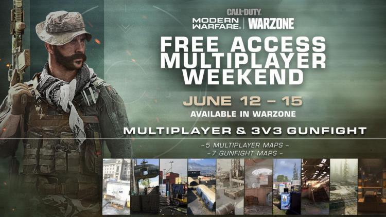 CoDウォーゾーン:期間限定でマルチプレイヤー&ガンファイト無料開放、6月16日まで