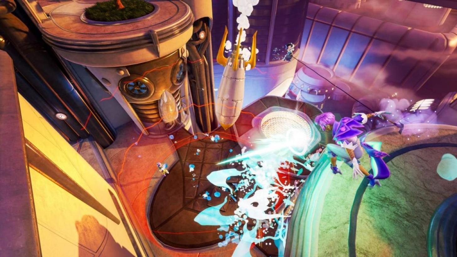 Rocket Arena(ロケットアリーナ):相手を場外に叩き出せ!ロケットオンリーの3v3スマッシュマルチ対戦がリリース