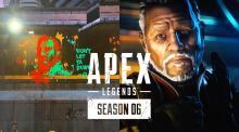 エーペックスレジェンズ:新レジェンド・ランパートは『タイタンフォール』の傭兵ブリスクと関係が?マップに意味深な落書き