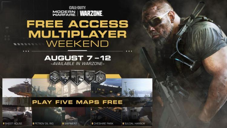 CoD:ウォーゾーン:期間限定でマルチプレイヤー無料開放、ダブルティアも同時開催中(8/13まで)
