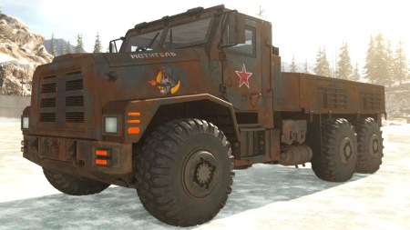 warzone truck