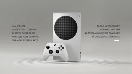 xbox series s spec