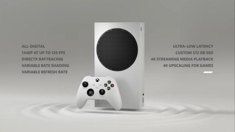 次世代機Xbox Series Xの廉価版「Xbox Series S」詳細:海外では11月10日発売、1440p/120fps対応、4Kストリーミング、光学ドライブなし、シリーズ最小の筐体など