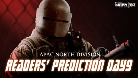 レインボーシックス シージ:APAC NORTHステージ2読者予想ランクマッチDAY9、予想外の結果を受け28人に首位獲得のチャンス