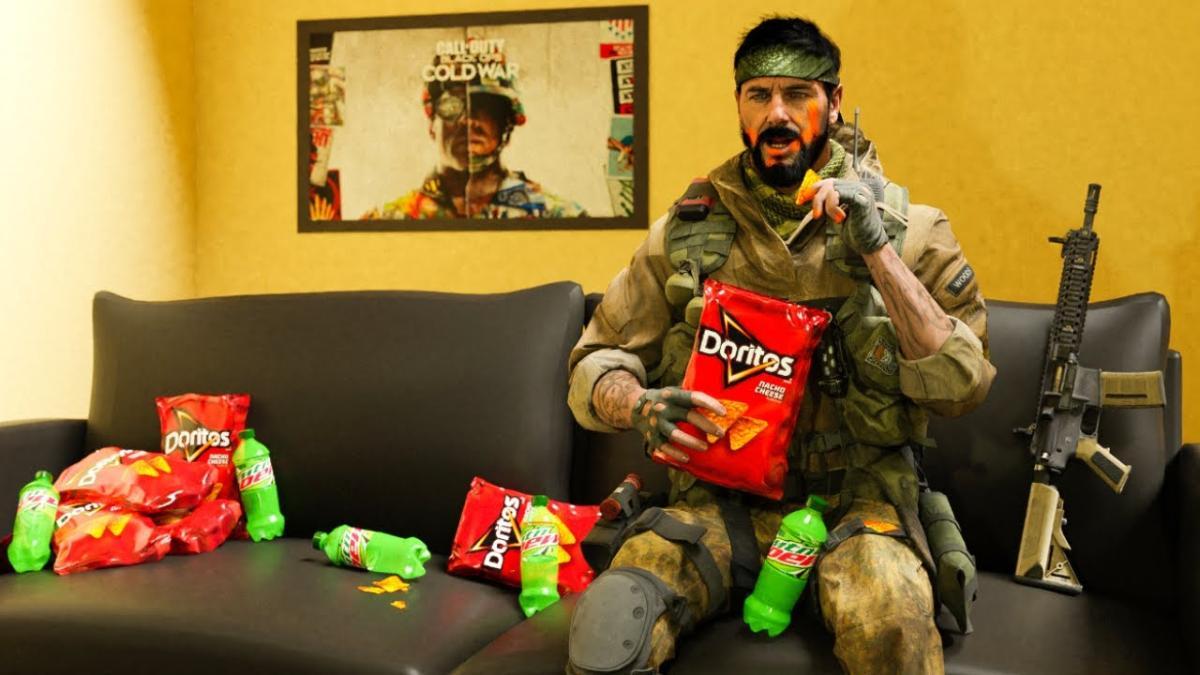 Black Ops Cold War DORITOS MTNDEW