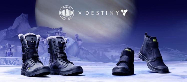 Bungie × Palladium:Destiny 2「光の超越」の舞台エウロパからインスパイアを受けたコラボレーションブーツ2種が発売