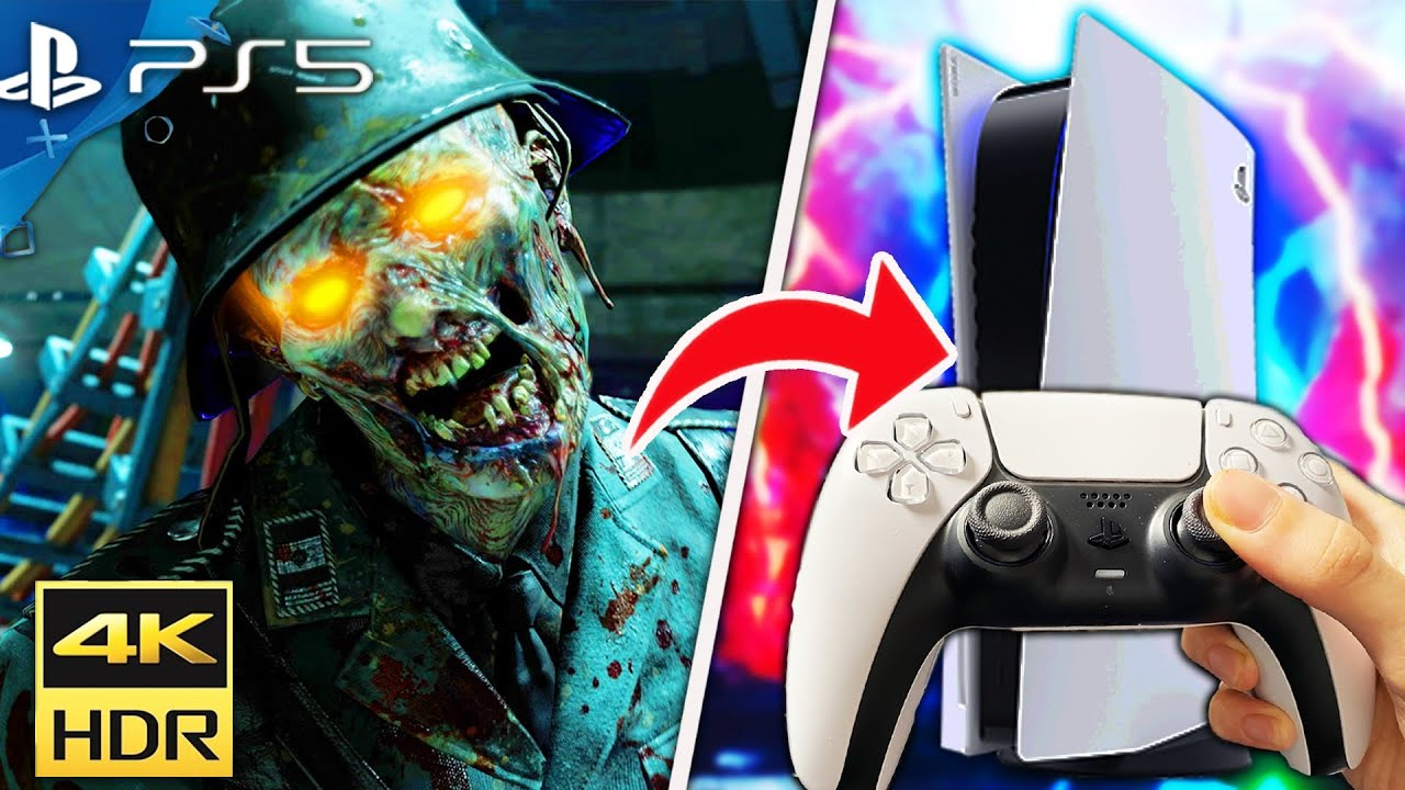 PLAYING BLACK OPS ZOMBIES on PS5! (4K 60FPS)