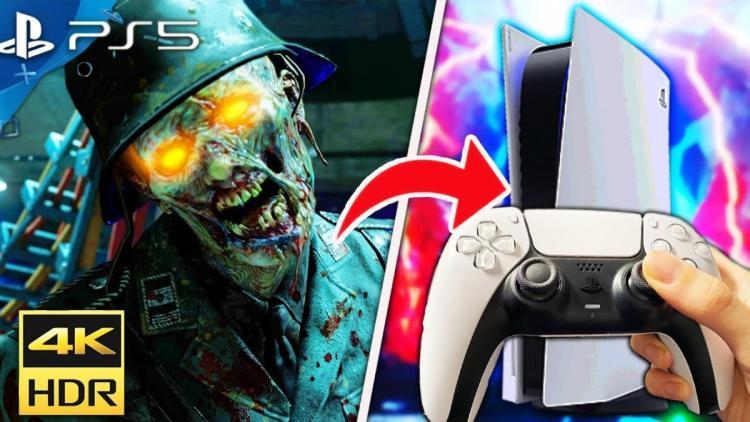 PS5:『CoD:BO3』『CoD:BO4』のゾンビモードプレイ映像、PS4 Proとのロード時間比較も