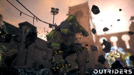 新作ルーターシューターアクションRPG『アウトライダーズ』:近接戦闘特化クラス「デバステーター」向けレジェンダリー防具セットが公開