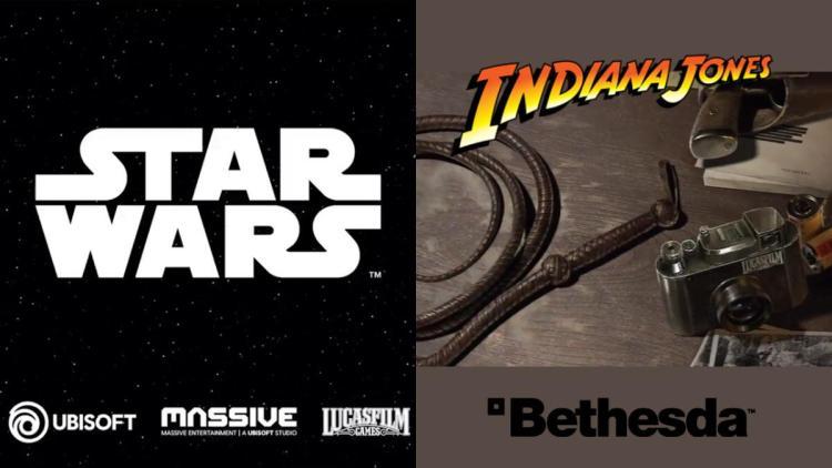 米ディズニーが新作ゲームを連続発表、Ubisoftが『スター・ウォーズ』 / ベセスダが『インディ・ジョーンズ』を開発