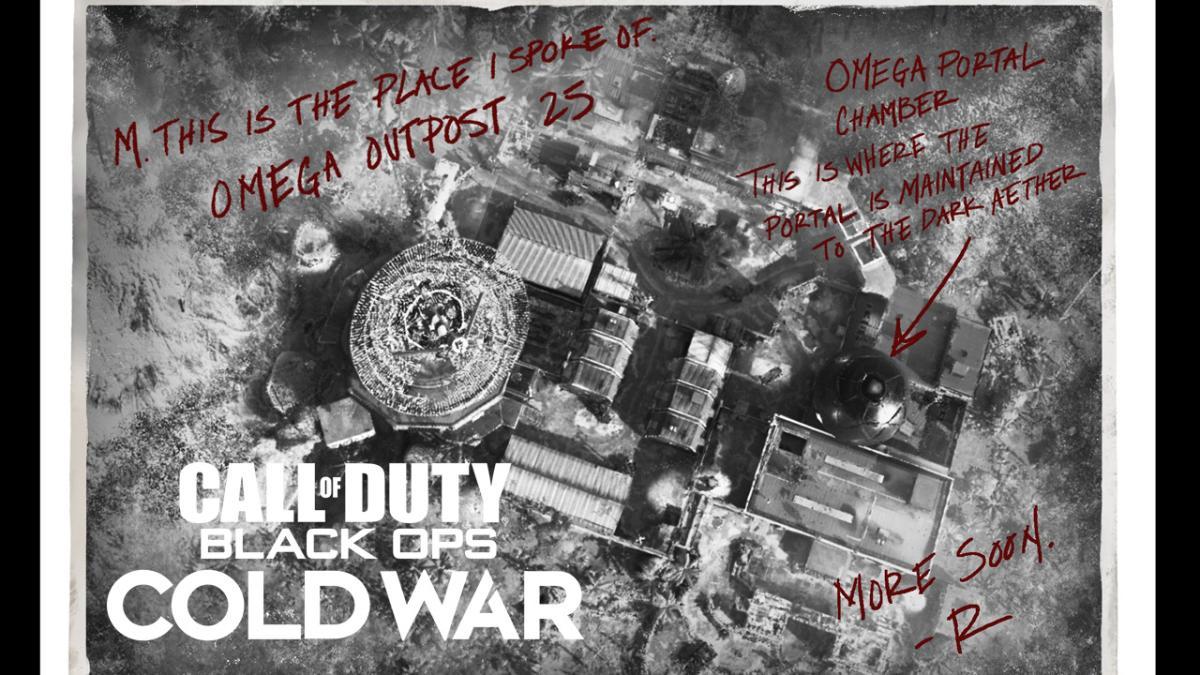 CoD:BOCW:「シーズン2」ゾンビモードのティザー公開、新マップの航空写真か