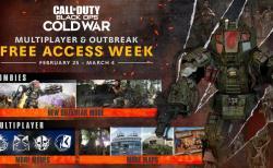 CoD:BOCW:マルチプレイヤー&新ゾンビモード「アウトブレイク」が2月26日より期間限定無料開放、ダブルXP&ダブル武器XPも
